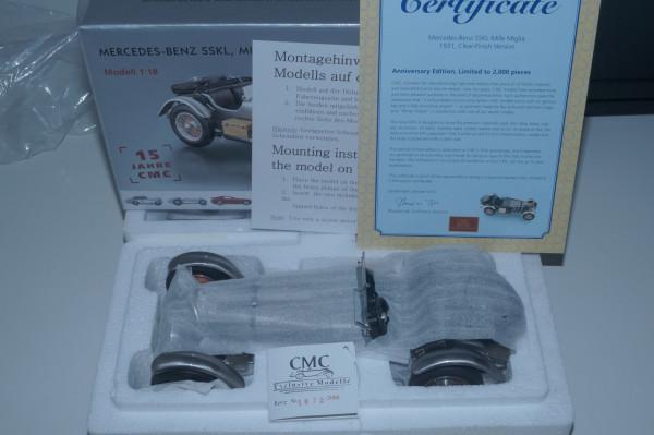 Mercedes-Benz SSKL Jubiläumsmodell 15 Jahre CMC CMC M-087 LE 2.000