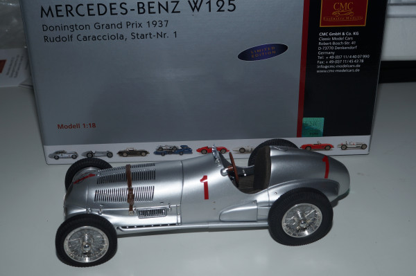 Mercedes-Benz W125 #1 Caracciola Donington 1937 CMC M-113 LE 1.000