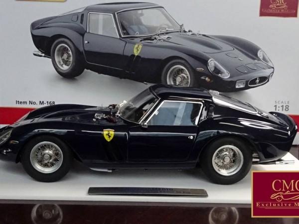 CMC Ferrari 250 GTO Midnight Blue 'Techno Classica 2016' CMC M-168 LE 200 Stueck
