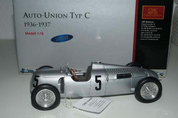Auto Union Typ C #5 Bernd ROSEMEYER CMC M-034A