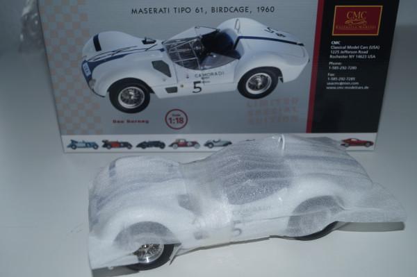 Maserati Birdcage #5 signiert von Dan Gurney CMC M-062 1/18