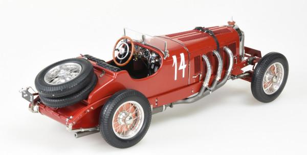 Mercedes-Benz SSK 1928-1930 red Carlos Zatuszek #14 CMC M-207