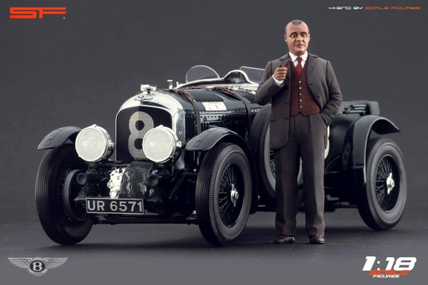 1/18 Konstrukteursfigur W.O. BENTLEY von SF Scale Figures - Handarbeit - SF118049