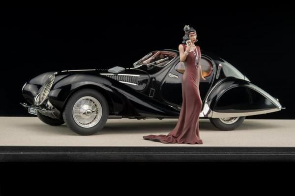 "Talbot-Lago 150 C-SS ""Teardrop"" schwarz Techno Classica 2019 Collector's Edition CMC M-166TC"