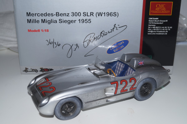 Mercedes-Benz 300 SLR DIRTY HERO Techno Classica edition CMC M-066a