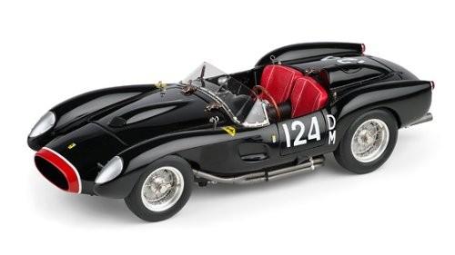 Ferrari 250 Testa Rossa #DM 124, 1958 (schwarz), Limited Edition 5.000 Stück CMC M-081