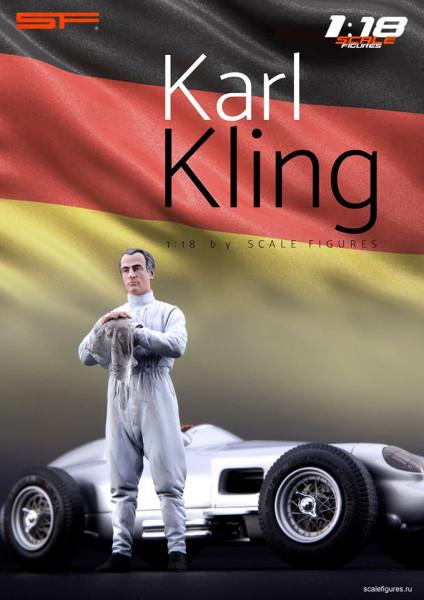 1/18 Rennfahrer Karl Kling von SF Scale Figures - Handarbeit--