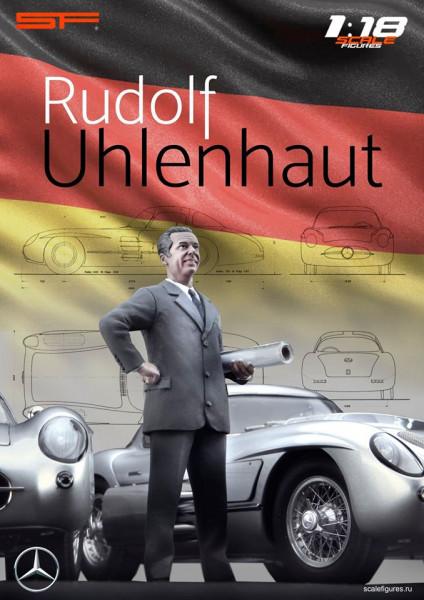 1/18 Konstrukteursfigur Rudolph UHLENHAUT von SF Scale Figures - Handarbeit-