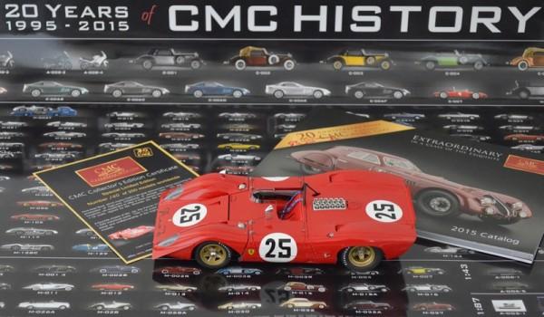 Ferrari 312 Spyder CMC USA 20th Anniversary Model CMC M-095A L.E. 200 Stück