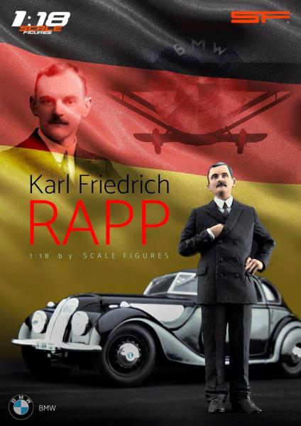 1/18 KARL FRIEDRICH RAPP von SF Scale Figures - Handarbeit -