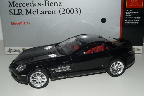 1/12 Mercedes-Benz SLR McLaren 2003 SCHWARZ CMC C-006F
