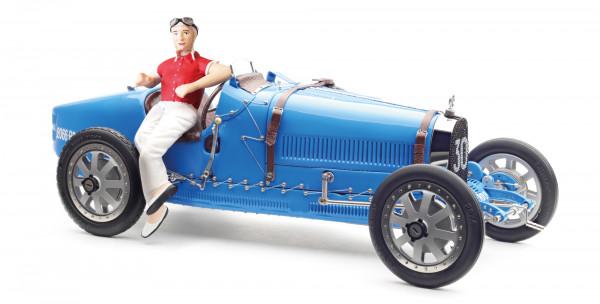 Bugatti T35 Bright Blue Livery LE 600 St. CMC M-100 018