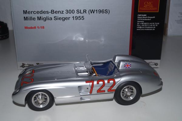 Mercedes-Benz 300 SLR #722 Mille Miglia 1955 CMC M-066