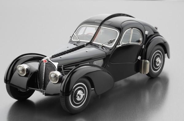 Bugatti Typ 57 SC Atlantic 1938 (schwarz) CMC M-085