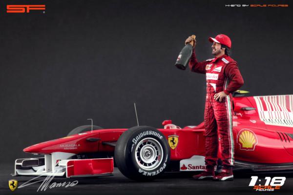 1/18 Fernando Alonso von SF Scale Figures - Handarbeit - SF118118