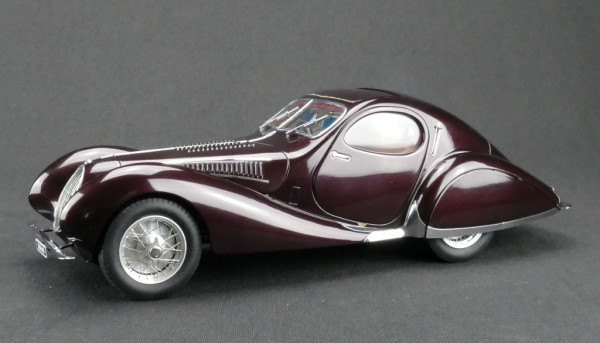 "Talbot-Lago Coupé T150 C-SS Figoni & Falaschi ""Teardrop"" ""Memory Edition"" Aubergine CMC M-179"