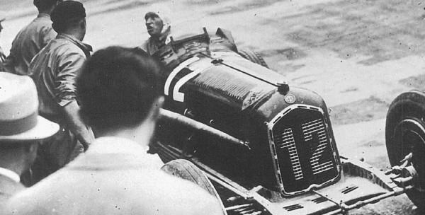 CMC Alfa-Romeo P3 #12 Fagioli, Gewinner GP Italien 1933 LE 1.000