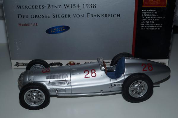 Mercedes-Benz W154 #28 Hermann LANG Sieger von Frankreich 1939 CMC M-040 LE 1.000 Stück