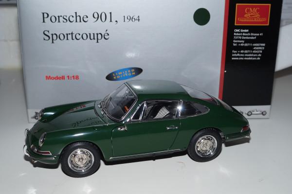 Porsche 901 Coupe irischgrün CMC M-067B