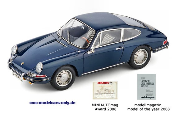 Porsche 901 Coupe Bali Blau DEALER EDITION CMC M-067