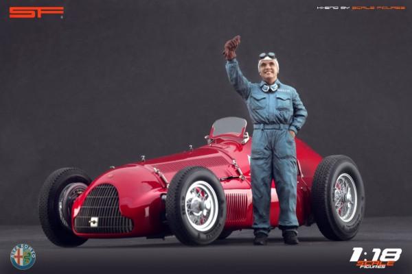 1/18 Rennfahrerfigur NINO FARINA von SF Scale Figures - Handarbeit - SF118114