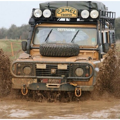 LAND ROVER DEFENDER 110 CAMEL TROPHY Edition DIRTY VERSION Almost Real 810309