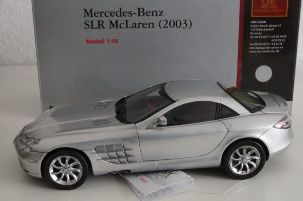Mercedes-Benz SLR McLaren 2003 silber CMC M-045E
