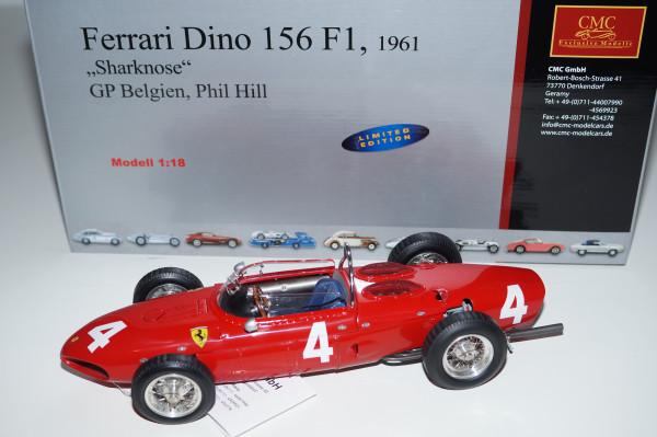 Ferrari 156 F1 'Sharknose' #4 Phil Hill Belgien CMC M-070