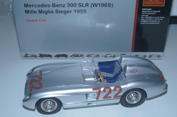 Mercedes-Benz 300SLR #722 Mille Miglia Stirling 1959 MOSS / JENKINS CMC M-066