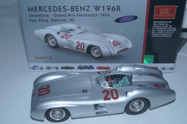 Mercedes-Benz W196R #20 K. Kling CMC M-128B LE 1.000 Stück