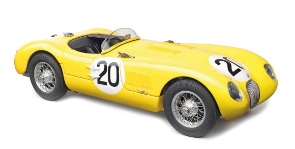 Jaguar C-Type #20 24h Le Mans 1953 Laurent/de Tornaco CMC M-194 LE 1.000