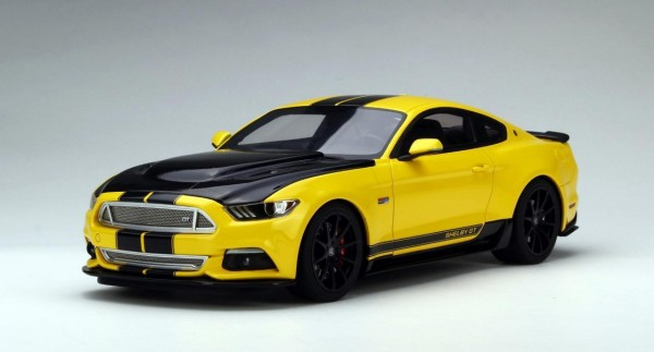 2015 Ford Mustang Shelby GT Yellow Limited Edition GT Spirit GTUS002