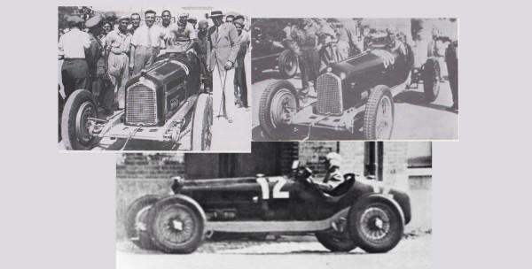 CMC Gewinnerset Tazio Nuvolari Alfa-Romeo P3 LE 300