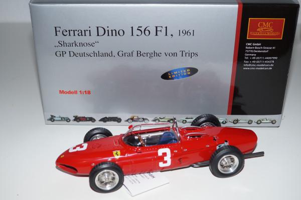 Ferrari 156 F1 'Sharknose' #3 von Trips Nurburgring CMC M-069