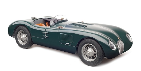 Jaguar C-Type British Racing Green 1952 CMC M-191