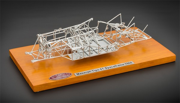 Maserati Tipo 61 Birdcage Space Frame CMC M-122 Limited Edition 2000 St.