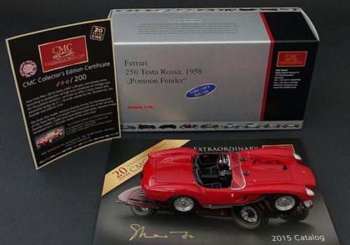Ferrari 250 Testa Rossa special edition Techno Classica 2015 CMC M-071A L.E. 200 Stück