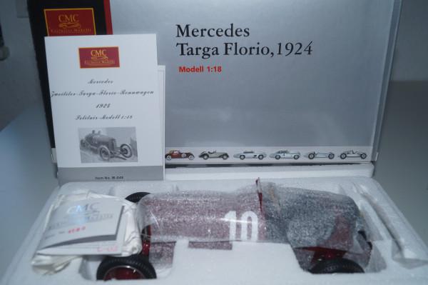 Mercedes Targa Florio 1924 Christian Werner / Karl Sailer CMC M-048