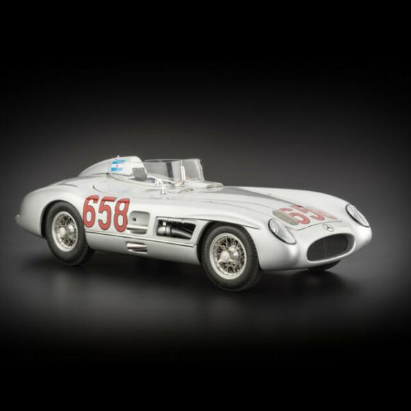 Mercedes-Benz 300 SLR #658 JM Fangio Mille Miglia 1955 CMC M-117