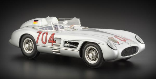 Mercedes-Benz 300 SLR #704 Hans Herrmann Mille Miglia 1955 CMC M-119