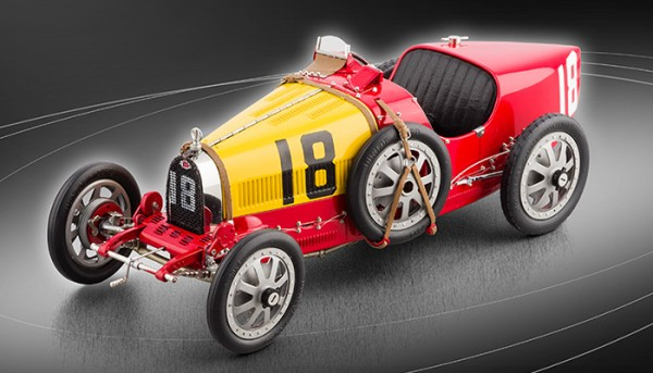 Bugatti T35 Nation Color Project - Spanien #18 LE 2000 St. CMC M-100 016